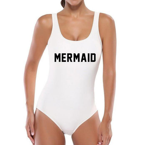 Mermaid One Piece Swimsuit for Women