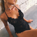 Sexy Lace Bodysuit - Bodysuit - Rebel Style Shop