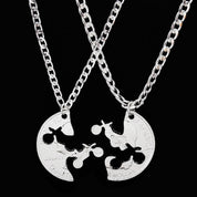 Couples Dirt Bike Necklace (2 pcs) - necklace - Rebel Style Shop