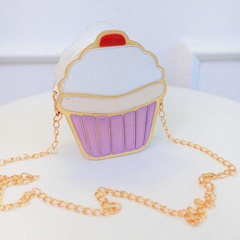 Ice Cream Cupcake Purse