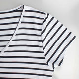 Striped Casual Sexy Summer Dress - Dress - Rebel Style Shop