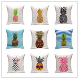 Pineapple Printed Cushion Cover - Rebel Style Shop - 1