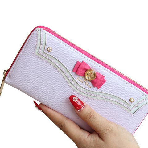 Cosplay Sailor Moon Long Zipper Wallet - Wallet - Rebel Style Shop