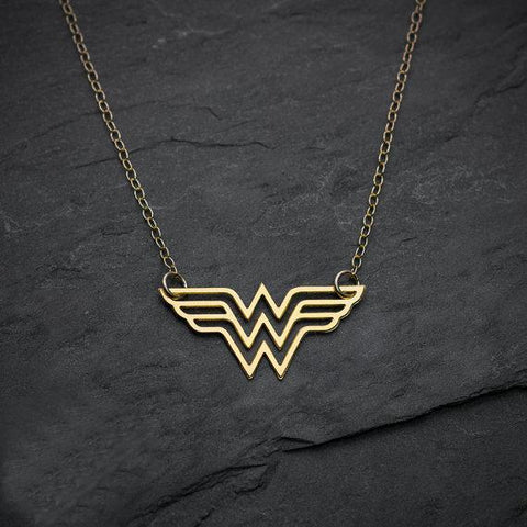 Gold Colored Wonder Necklace - Necklace - Rebel Style Shop