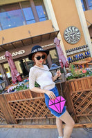 Diamond Holographic Purse - Purse - Rebel Style Shop