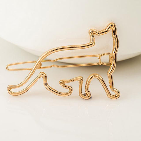 Cute Cat Shape Hair Clip - Hair Clips - Rebel Style Shop
