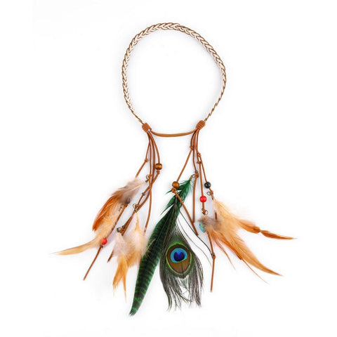 Festival Feather Headband - Rebel Style Shop - 1