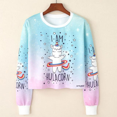 kawaii cropped sweater - cute and playful sweaters – Rebel Style Shop 79ab6892fd4