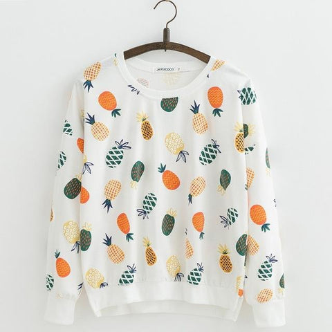 Assorted Kawaii Print Pullover - Sweater - Rebel Style Shop