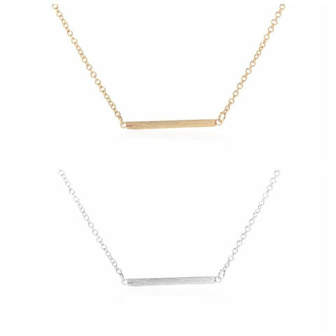 Bar Necklaces - Rebel Style Shop - 1
