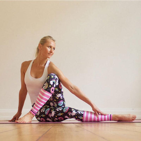 New Fairytale Unicorn Yoga Tights
