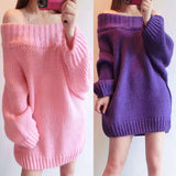 Oversized Sweater Dress - sweater dress - Rebel Style Shop