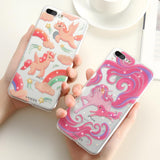 Silicone Unicorn Phone Case