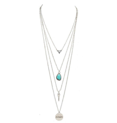 Long Multi-Layer Necklace - Rebel Style Shop - 1