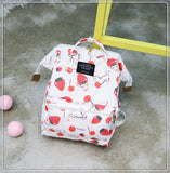 Kawaii Emoji Strawberry Backpack