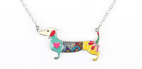 Dachshund Dog Necklace (6 Styles) - necklace - Rebel Style Shop