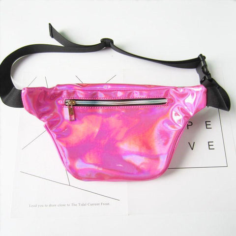 Holographic Waterproof Harajuku Waist Bag - bag - Rebel Style Shop
