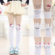 Harajuku Kitty Stockings - Stockings - Rebel Style Shop