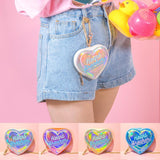 Heart Breaker Harajuku Holograp Coin Purse