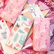 Printed Pink Cute Wallets