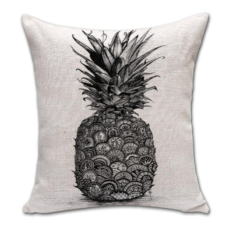 Pineapple Printed Cushion Cover - Rebel Style Shop - 6