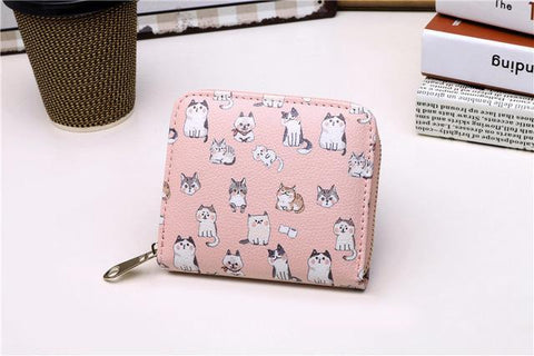 Cute Cat Wallet - Wallet - Rebel Style Shop
