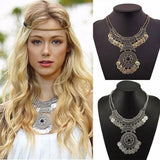 Boho Fashion Coin Necklace