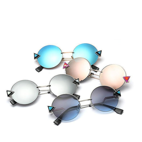 Round Oversized Sunglasses - Oversized Sunglasses - Rebel Style Shop