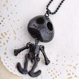 Alien Skull Necklace - necklace - Rebel Style Shop