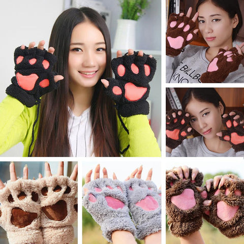 Kawaii Paw Gloves - Rebel Style Shop - 1