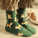 Cute Dog Print Socks -  - Rebel Style Shop