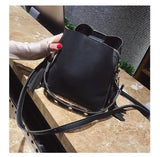 Fashion Vintage Bucket Bag, Tassel Crossbody Purse - Bucket bag - Rebel Style Shop