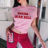 Hotter than Hell T Shirt - T-Shirt - Rebel Style Shop