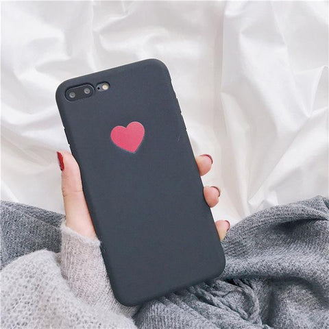 Cute Heart Phone Cover - Cell Phone Case - Rebel Style Shop