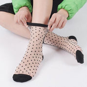 Different Styles Transparent Socks - socks - Rebel Style Shop