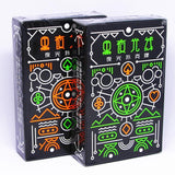 Black Glow In The Dark Playing Cards Set - playing cards - Rebel Style Shop