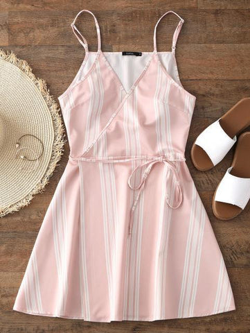 Sweet Summer Striped Dress