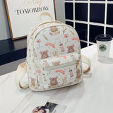 Cute Cartoon Print Kawaii Mini Backpack