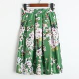 Sakura Midi Skirt - Skirt - Rebel Style Shop