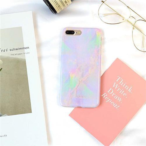 Pastel Marble Phone Case for iPhone