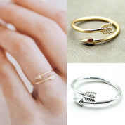 Boho Wrap Arrow Ring - Ring - Rebel Style Shop