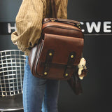 Vintage Leather Backpack - Backpack - Rebel Style Shop