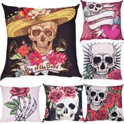 Skull Pillowcases - Pillowcase - Rebel Style Shop