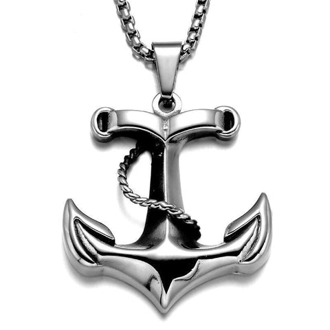 Anchor Necklace for Men - necklace - Rebel Style Shop