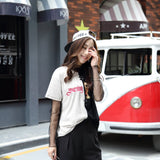Harajuku T-Shirt Black & Gray - Harajuku Clothes - Rebel Style Shop