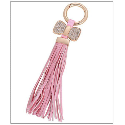 Tassels With Bow Key Chain - Rebel Style Shop - 2