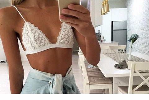 Lace Bralette - Rebel Style Shop - 1
