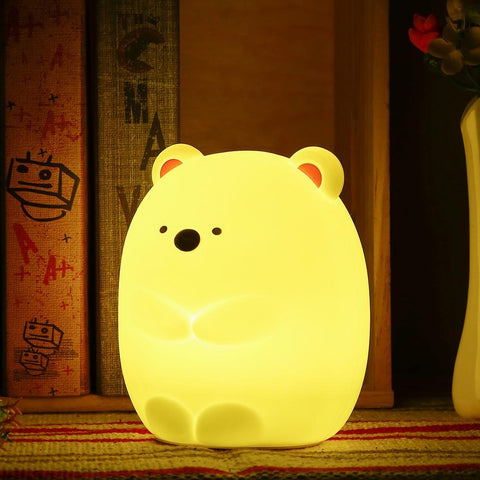 Rechargeable Bear Night Light