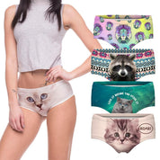 Cute Print Underwear (Cats, Lions, Unicorns, & More) - Rebel Style Shop - 1