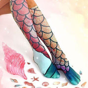 Mermaid Socks - Rebel Style Shop - 1